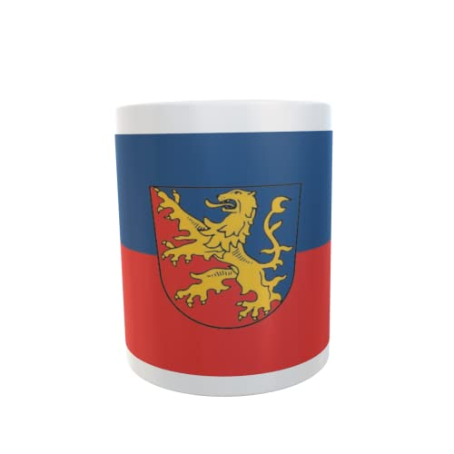 U24 Tasse Kaffeebecher Mug Cup Flagge Rhein-Lahn-Kreis