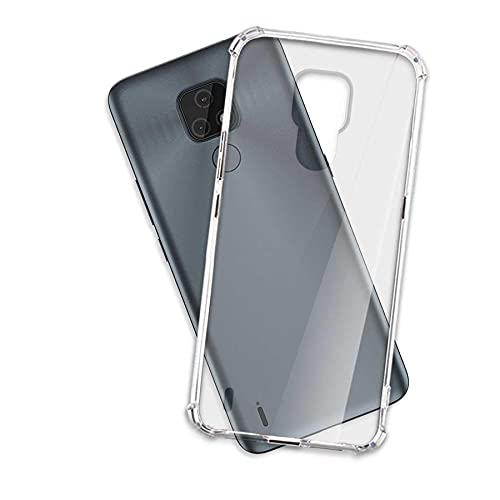 mtb more energy Funda Soft Armor para Motorola Moto E7 (6.5'') - Esquinas reforzadas - 1.5mm TPU - Carcasa Anti Shock Cover Case Estuche