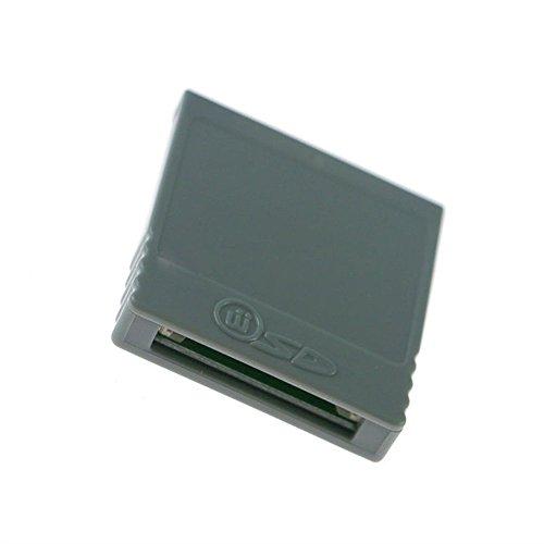 Adaptador de lector de tarjetas SD para Nintendo Wii NGC Gamecube Console