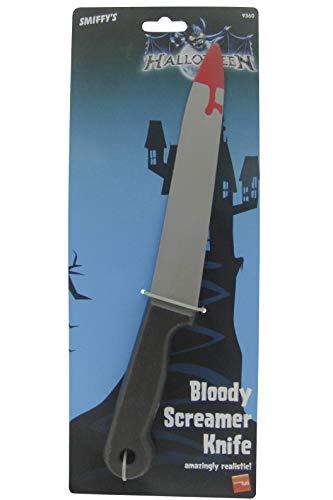 Smiffy's 9360 blutverschmiertes Screamer-Messer