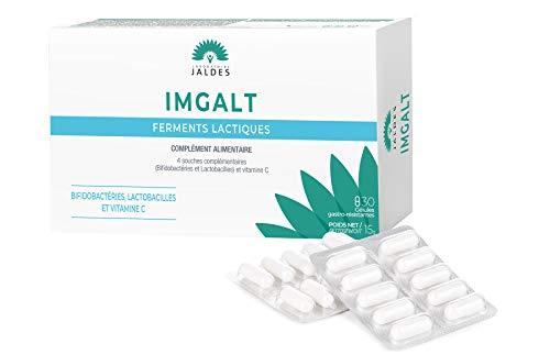 IMGALT 30 Kapseln | Zur Unterstützung des Gleichgewichts der Darmflora | 4 Milliarden Milchsäurefermente