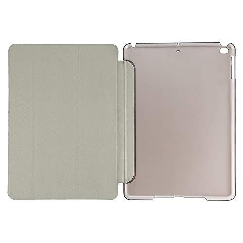 Erduo Anti-Staub-stoßsicherer Tropfen-Widerstand-Schirm-Schutz-intelligenter Fall 360, der für iPad Luft/für iPad Air 7 PU-Leder-rückseitige Abdeckung dreht