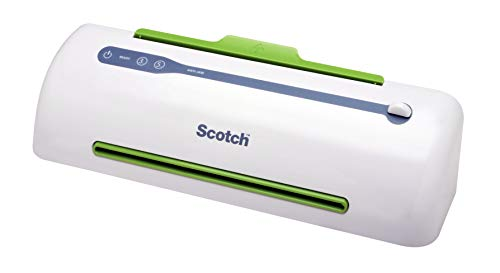 Scotch Brand Pro Thermal Laminator, Never Jam Technology Automatically Prevents Misfed Items, 2 Roller System (TL906), 9 in Photo #3