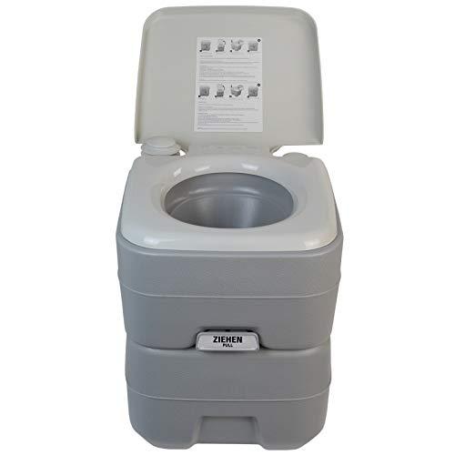 BB Sport Toilette Portatile 20l WC Chimico da Campeggio