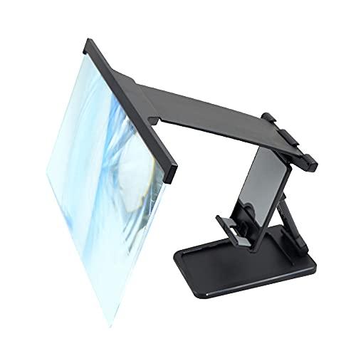 MY99 USHOMI 12 Zoll 3D HD Bildschirmverst?rker Tragbarer Faltbarer Desktop-Halter für Handy-Film-Augenschutz