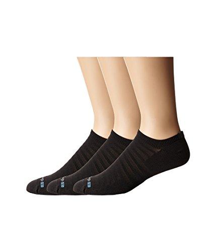 Drymax Sport Hyper Thin Running v4 No-Show 3-Pair Pack Black MD (Men's Shoe 6-8, Women's Shoe 7.5-9.5)
