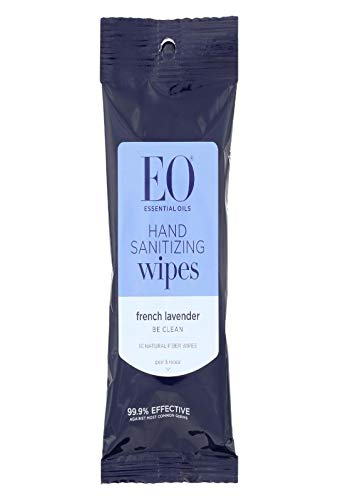 Hand Cleansing Wipes Lavender - 10 - Wipes