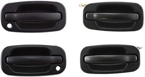 02 tahoe rear door handle - 6