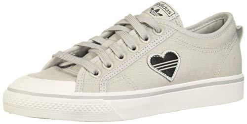 adidas Originals Damen Sneaker Nizza Trefoil W EF5073 Grau, Schuhgröße:40 2/3