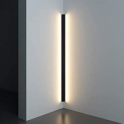 Moderne Eck-Wandleuchte, minimalistische Innenleuchte, Wandleuchter, Treppe, Schlafzimmer, Nachttisch, Zuhause, Flur, 150cm