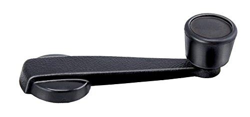 MANIGLIE ALZACRISTALLO Maniglia in plastica nera pomello nero Per FIAT 127