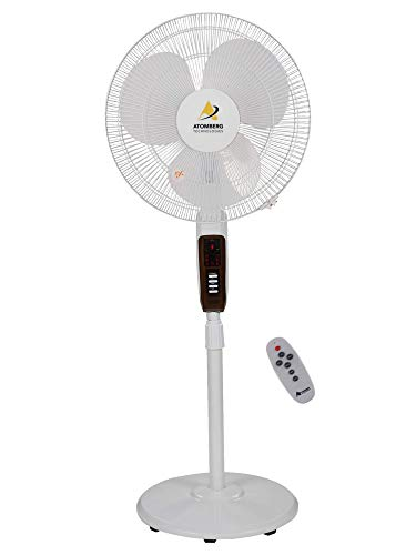 Atomberg Energy Efficient 400 mm 3 Blade Pedestal Fan  (White, Pack of 1)