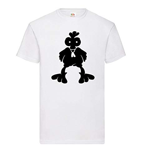 Agro Hahn - Camiseta para Hombre, Color Negro Blanco XXL
