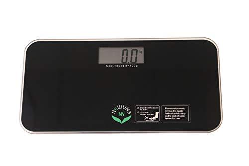 NewlineNY 700 Series Mini Travel Digital Bathroom Scales (no Sleeve) (Black)