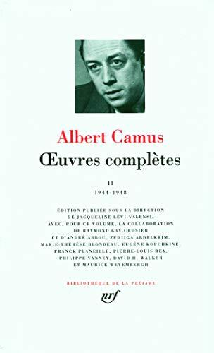 Œuvres complètes (Tome 2-1944-1948)
