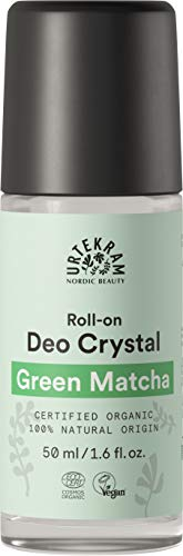 Urtekram Green Matcha Deo Crystal Organic, Urban Protection, 50 ml