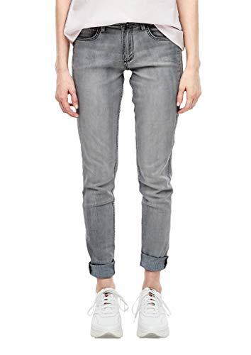 Q/S designed by - s.Oliver Damen Skinny Fit: Super skinny leg-Denim grey stretched denim 44.32