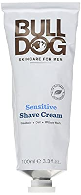 Bulldog Sensitive Shave Cream for Men, 100 ml, Pack of 4