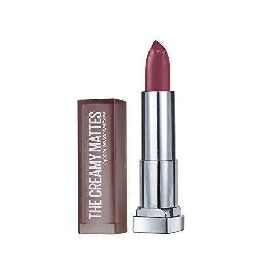 Maybelline New York Color Sensational Creamy Matte Lipstick, 638 Madly Magenta, 3.9g