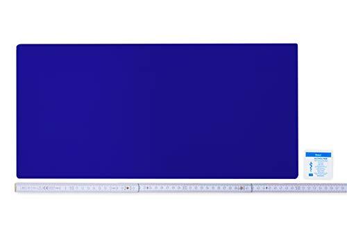 Flickly Anhänger Planen Reparatur Pflaster | in vielen Farben erhältlich | 50cm x 24cm | SELBSTKLEBEND (ultramarineblau)