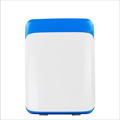 Q-HL Auto Elektrische Kühlschrank Kühlbox, 10L Auto Kühlschrank, tragbare Mini Kühlschrank, AC und DC Hotspot System, Thermostat, Medikamentenlager, Kosmetik-Kühlschrank