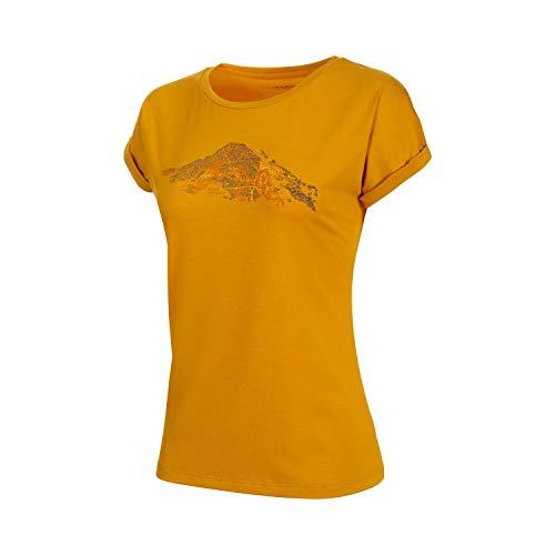 Mammut Damen T-Shirt Mountain S Goldfarben