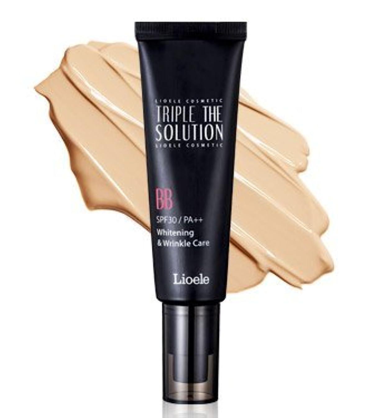 適性理解する溶かすリオエリ(Lioele) トリプル ザ ソルーション BBクリーム/Lioele Triple The Solution BB Cream [並行輸入品]