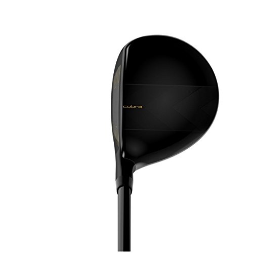 Cobra Men's 2018 F-Max Fairway Black-Gold, Right Hand, Graphite, 20, degrees, Regular