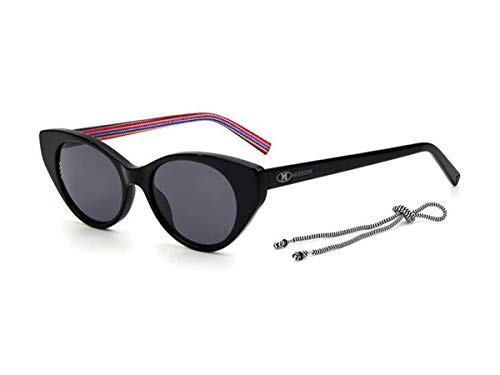 Missoni Sonnenbrille MMI 0004/S 807/IR schwarz grau Größe 50 mm Damen