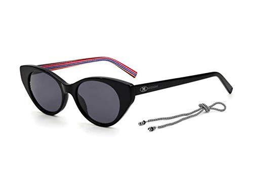 Missoni Gafas de sol MMI 0004/S 807/IR Negro Gris Talla 50 mm Mujer