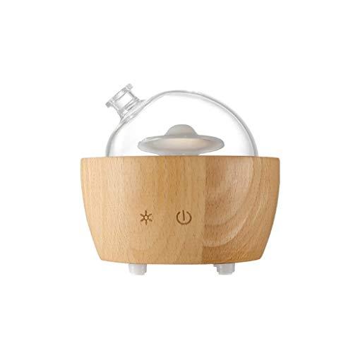 WSDSX Luchtbevochtigers voor Thuis Aromatherapie Diffuser, 20 ml Diffusers Voor Essentiële Oliën Cool Mist Luchtbevochtiger Aroma Essentiële Olie Diffuser, Houtkleur