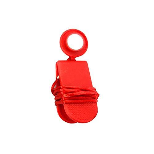 jiutinggood Universal Laufband Maschine Sicherheitsschlüssel magnetischer Sicherheitsschalter Schloss L rot