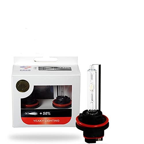 Faroles Xenon Hid Light D2H 9012 D2S D4S D1S D3S H1 H3 H11 H7 9005 9006 Lámpara de reemplazo de bombillas de bombillas ( Color Temperature : 5500 K , Emitting Color : Heartray3 )