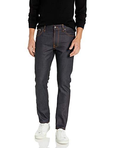 Nudie Jeans Men's Lean Dean, Dry Japan Selvage, 33x32