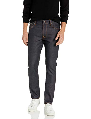 Nudie Jeans Men's Lean Dean, Dry Japan Selvage, 32x32