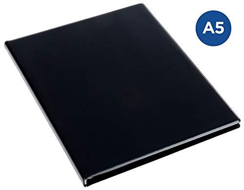 Rillstab RI99524 Álbum de fundas Original A5, 20 fundas internas, negro