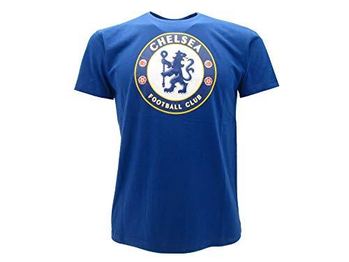 T-Shirt Ufficiale Chelsea Taglia XXL Adulto-Ragazzo Maglia Ufficiale Chelsea