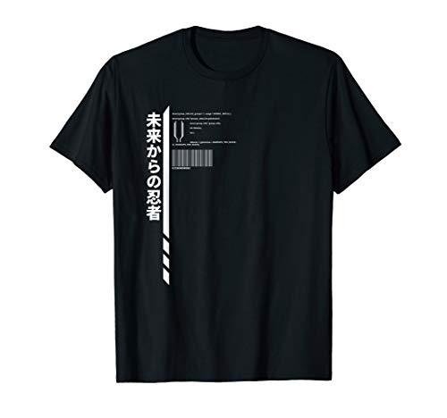 Techwear Goth Ninja Hidden Code T-Shirt
