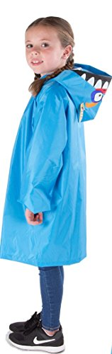 Cloudnine Children's Monster Raincoat, For Ages 5-12 One Size Fits All