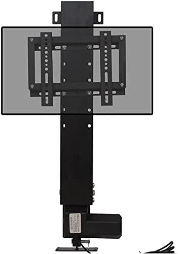 GDEVNSL Soporte de TV Mejorado Soporte de TV eléctrico Montaje en el Suelo Soporte de TV Oculto Control Remoto de Altura Ajustable Soporte de TV Inteligente para Panel Plano de 14'-32'