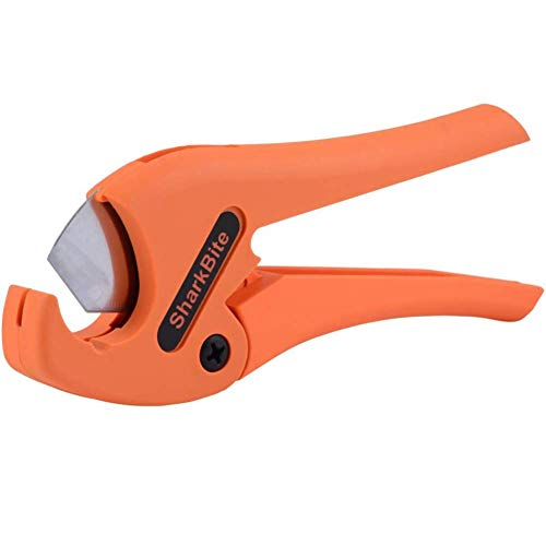 SharkBite U701 PEX Tubing Cutter, For 1/4 Inch, 3/8 Inch, 1/2 Inch, 3/4 Inch, and 1 Inch Pipes