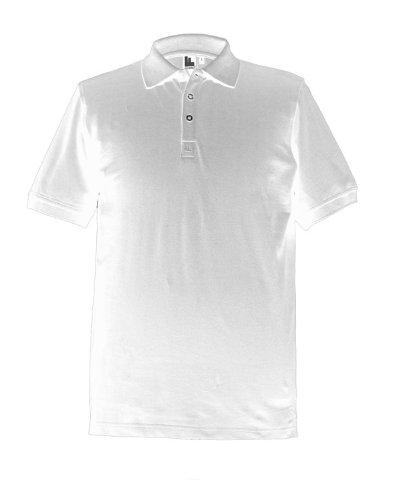 FUnc Factory pour Homme Classique Coton Chemise Coupe Classique – Blanc – L