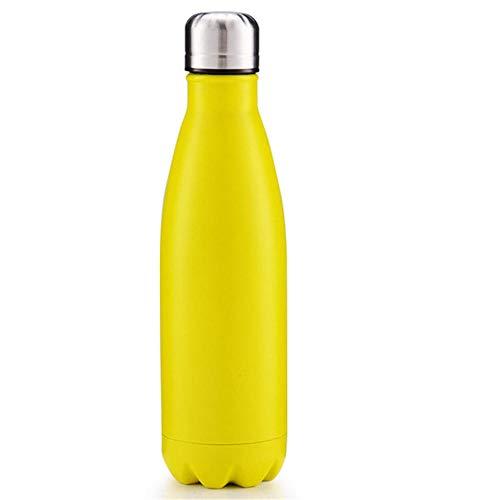 NYCROSSER RVS kolf vacuüm lekvrije smalle mond BPA-vrije sport sportschool 12 Uren Koud & 6 Uren Hot 500ml