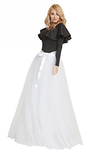 FOLOBE 1950 Vintage Puffy Tutu Skirts Dama