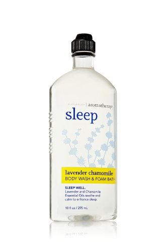 Bath and Body Works Lavender Chamomile body Wash & Foam Bath 10 oz