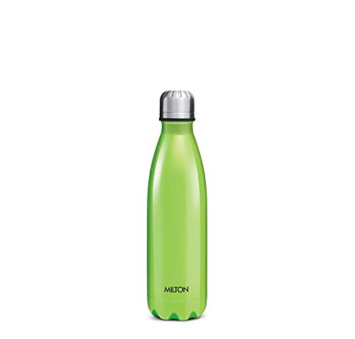 Milton Insulated Steel Bottles Thermosteel Duo 500 Ml DLX Green
