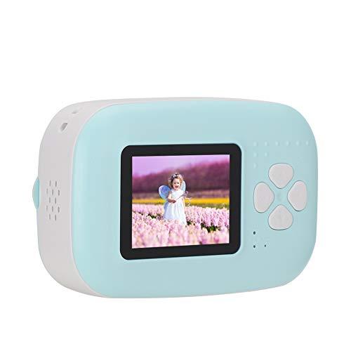 Kafuty Mini Thermodruckerkamera (56 mm), tragbare Digitalkamera, 20 MP, mit 2 Zoll Bildschirm, 2200 mAh Akku, Fotodruckerkamera zum sofortigen Aufnehmen und Drucken von Fotos, Aufnehmen von Videos