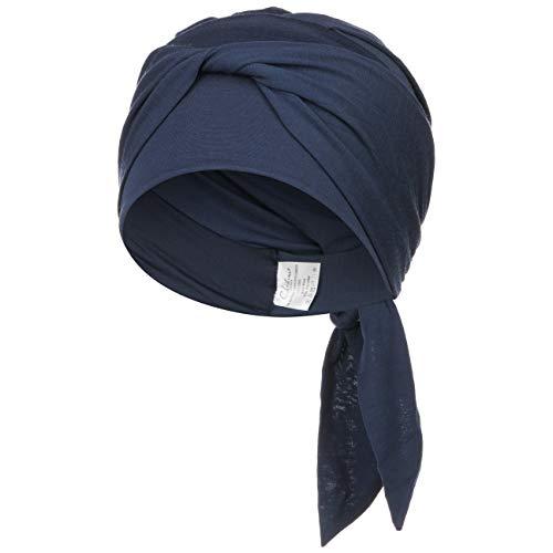 Pañuelo Beatrize con lana suave y Technology 37.5® para un confort óptimo - azul oscuro
