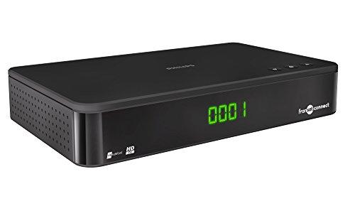 Philips TNT Transat Connect DSR3331F Receiver TV HD Sat, Schwarz