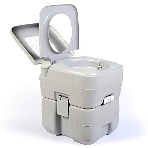 Yunjie Portátil Cámping WC Inodoro 20L Extraíble Quimico Vater baño con Bomba...
